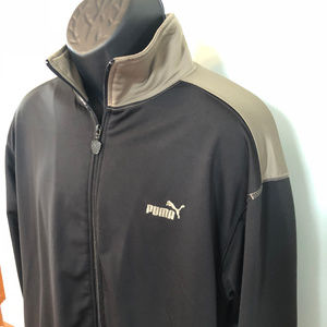90s Puma Track Suit Jacket Zip Up Baseball Run Jog